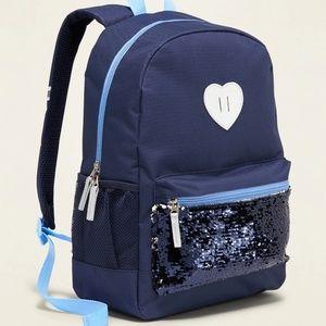 Nwt Flippy-Sequin Pocket Backpack for Girls